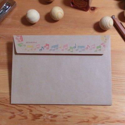 画像2: 封筒「おんぷちゃん」
