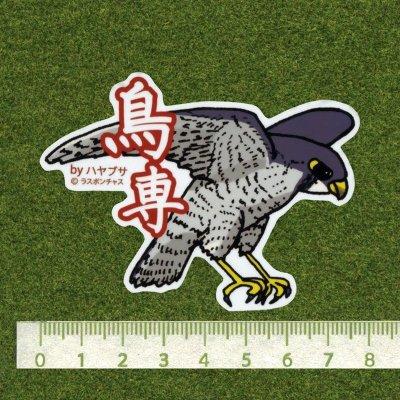 画像2: 【野鳥生活】防水UVステッカー「鳥専」送料180円