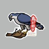 【野鳥生活】防水UVステッカー「鳥が好き」送料180円