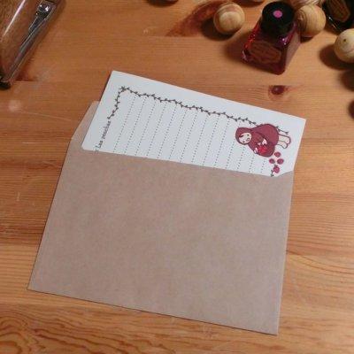 画像2: 封筒「いちごつみ」