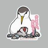 【野鳥生活】防水UVステッカー「かあちゃん、おもいょ……」送料180円
